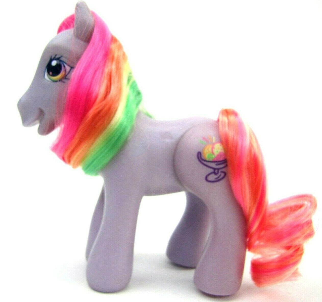 2007 My Little Pony Generation 3 Ice Cream Dream Supreme RAINBOW SWIRL III NICE